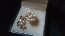 Gyémánt -gyöngyökkel 14.kr szett