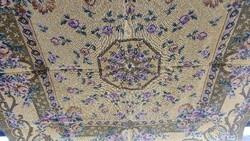 Szövött asztal terítő gobelines 144*139cm