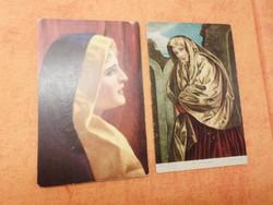 Stengel képeslap: WILHELM HUNGER: Helga, Stengel lap: Giovanni Girolamo SAVALDO. Mária Magdaléna