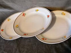 Zsolnai tányérok 3 db