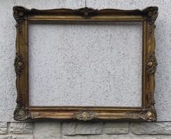 Blondel keret ràma képkeret tükör keret Festmény és tükör tàma .60x 80 as