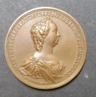 Mária Terézia Selmecbányai bányászati jutalomérme, utánveret, bányaméréstan, érem