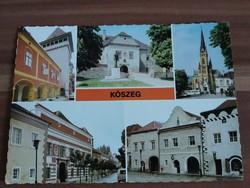 Kőszeg,mozaik képeslap