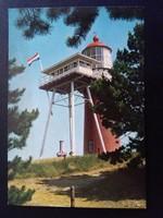 Groeten van Vlieland Vuurtoren Postatiszta Képeslap