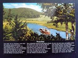 Weserlied Postatiszta Képeslap