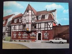 Musmann-Kaiserhof Luftkurort Veckerhagen/Weser Postatiszta Képeslap