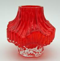 B699 Álomszép üveg váza 1 Ft-ról