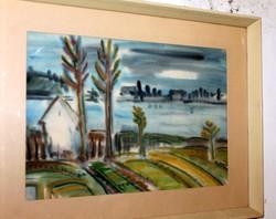 Lelkes András garantáltan eredeti képcsarnokos festménye 301