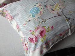 Tündéri madaras rózsás alvós párnahuzat 2 db