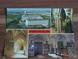 Pannonhalma,mozaik képeslap