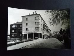 Kiskunhalas Magyar Nemzeti Bank Fekete-Fehér Postatiszta Képeslap