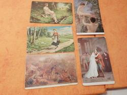 1/ Székely Bertalan: A mohácsi ütközet, Verdi: Trubadur,  A paradicsomban, Piroska: 1916