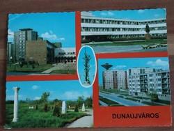 Dunaújváros, mozaik képeslap