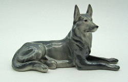 B701 Porcelán kutya figura - szép, hibátlan állapotban