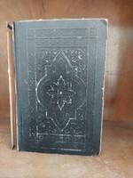 1921 Biblia Ó és Új Testamentomában Egész Testamentum Szent Írás Díszborító Károli Gáspár Vallás