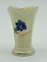 B705 Waldershof Bavaria ibolya váza - szép, hibátlan állapotban