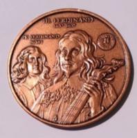 MÉE Székesfehérvár II. FERDINÁND / III. FERDINÁND 2007 - EMLÉKÉREM