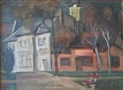 Kálmán Piri 1908 - 1983, - district 60x80