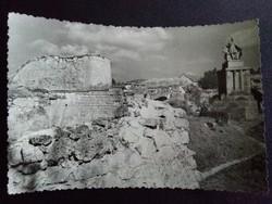 Eger Fekete-Fehér Postatiszta Képeslap