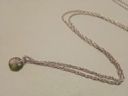 Dorivisy Baby tourmaline függő ezüst nyakláncon