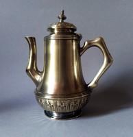 Argentor szecessziós/jugendstil aranyozott teáskanna, 1905 Bécs