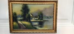 P. Anna festmény
