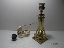 Régi réz asztali és falilámpa ------ billenő lámpa - hajó lámpa -2-