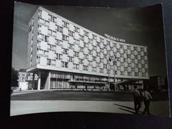 Poznan Fekete-Fehér Postatiszta Képeslap