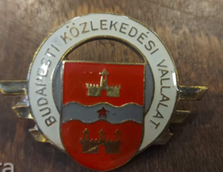 Budapesti Közlekedési vállalat jelvény