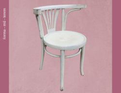 Formás thonet szék – vintage kisugárzással
