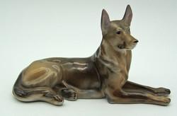 B740 drasche porcelán kutya - szép, hibátlan állapotban