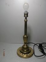 Nagyméretű antik réz asztali lámpa - 2