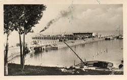 Ba 114 Körkép a Balaton vidékről a XX.század közepén .Balatonfüred, mólórészlet