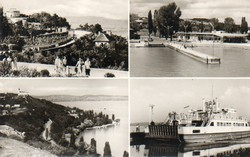 Ba 108 Körkép a Balaton vidékről a XX.század közepén .Tihany, részletek