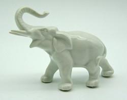 B713 Porcelán elefánt - szép, gyűjtői darab