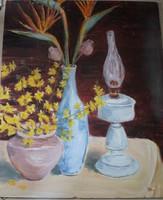 Csendélet: Virágok