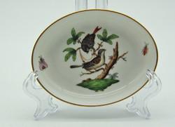 B721 Herendi Rotschild mintás gyűrű tartó tálka - szép, gyűjtői darab