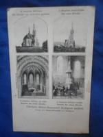 Századeleji képeslap máriaremete templom