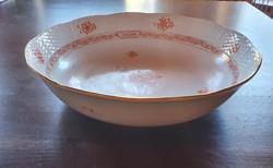 1976-os jubileumi Herendi köretes tál, kínáló, 26,5 cm-es