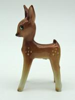 B719 Art deco porcelán őzike - szép, gyűjtői darab