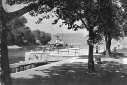 Ba 110 Körkép a Balaton vidékről a XX.század közepén .Fonyód, hajóállomás