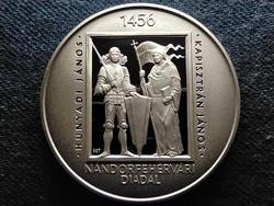 A nándorfehérvári diadal 550. évfordulója .925 ezüst 5000 Forint 2006 BP PP (id52294)
