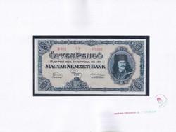 Magyar Pénzjegy- és Éremtár U.P. bankjegy másolat 50 Pengő 1926 (id51754)