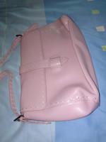 Ancora bőr! rózsaszín vintázs női bőrtáska pink vintage leather bag