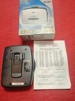 Retro Walkman, sétálómagnó - kazetta lejátszó - Hauser eredeti dobozában, övcsipesszel