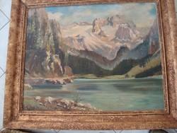 H. Schmidt : Táj hegyekkel