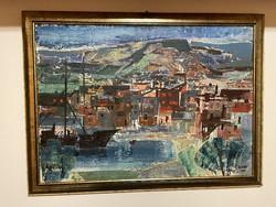 Keleti Jenő festmény