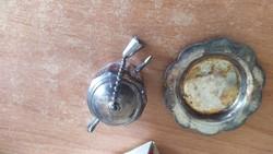 Küster Perry retro teafű áztató eredeti dobozában