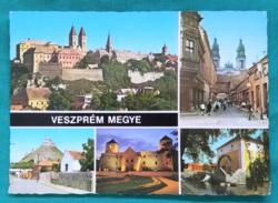 Magyarország,Veszprém,postatiszta képeslap,1983