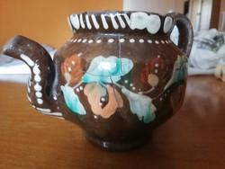 11 cmes régi népi teáskanna
